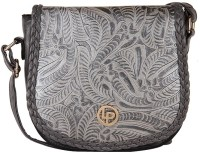 Lino Perros LWSL00144 Small Sling Bag - Grey