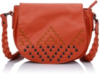 Caprese Girls, Women Red Leatherette Sling Bag