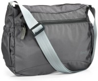 Bendly Smart Foldable Medium Sling Bag - Grey-01
