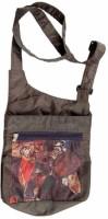 The Museum Outlet Girls Multicolor Canvas Messenger Bag - SLBECQYZUGU5FPFU