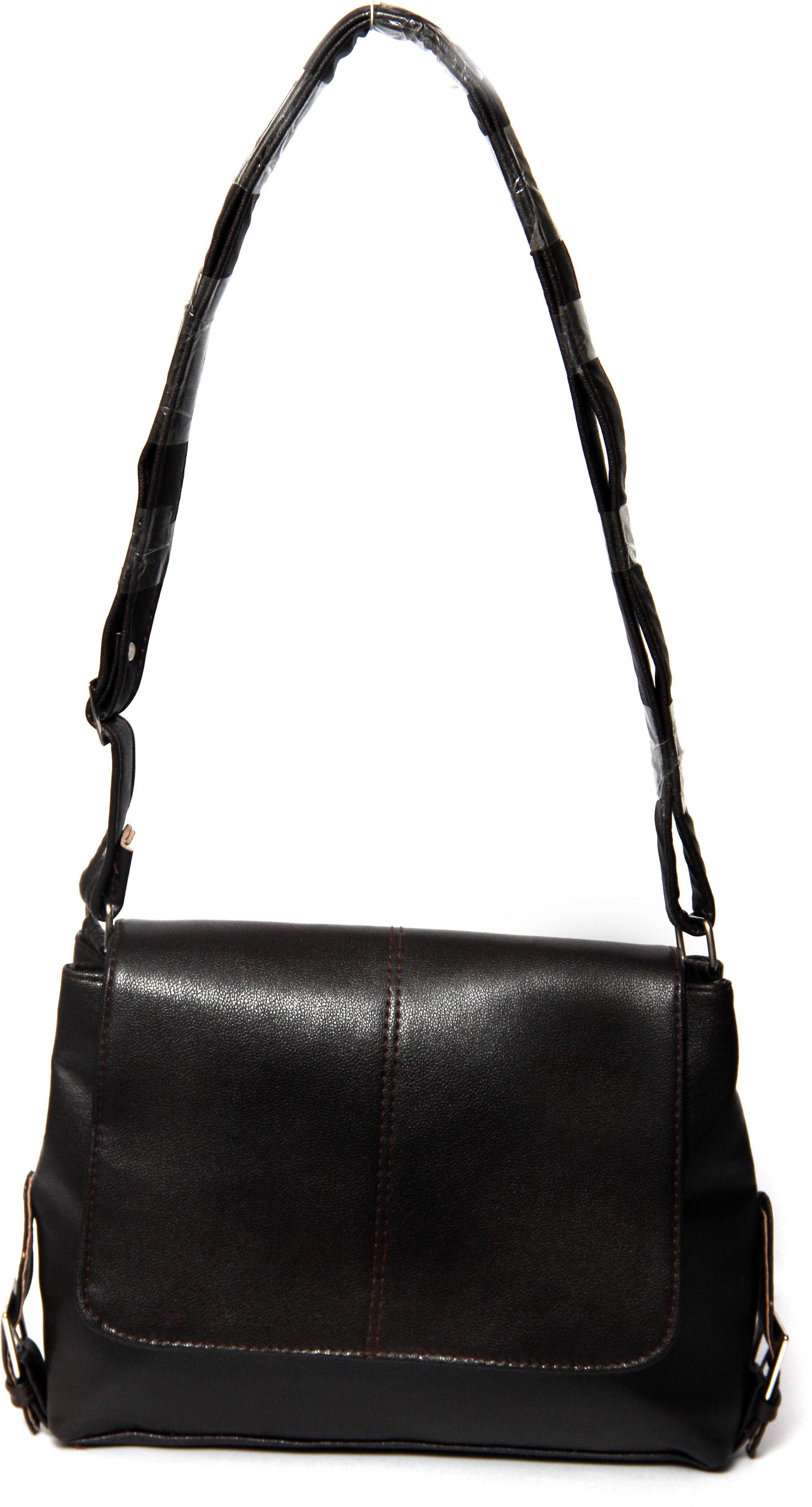 Borse Casual : Borse women casual brown pu sling bag price in