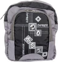 Donex Boys, Girls, Men, Women Casual Black, Grey Nylon Sling Bag