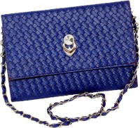 Informatix Women Casual Blue PU Sling Bag