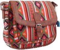 The Kala Shop Women Casual Multicolor Canvas Sling Bag