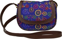 The Elephant Company Girls Blue Canvas Sling Bag