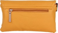 Lino Perros Women Casual Yellow Leatherette Sling Bag