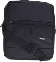 Lino Perros Men Casual Black Polyester Sling Bag