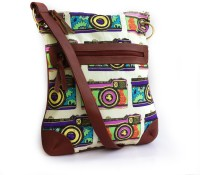 Carry On Bags Trible Print Small Sling Bag - Multicolor