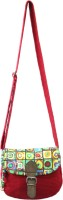 Anekaant Whimsical Small Sling Bag (Red)