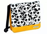 Hazel Fashion Panda Medium Sling Bag (Yellow-02)