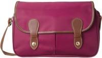 Cappuccino Women Casual Pink Nylon Sling Bag