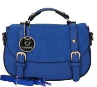 Fur Jaden Women Casual Blue PU Sling Bag
