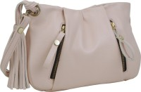 Aditya Vikram Design Studio Girls, Women Casual Pink Leatherette Sling Bag