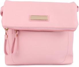 Kleio Girls, Women Pink PU Sling Bag