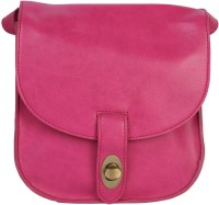 Life By Shoppers Stop Women Casual Pink PU Sling Bag