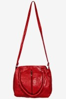 MTE Girls Casual Red Leatherette Sling Bag