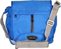 Aoking Men, Boys, Women, Girls Casual Blue Nylon Sling Bag