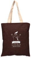 Campus Sutra Women Casual Brown Jute Tote