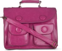 Craze On Bags Women Casual Pink PU Sling Bag