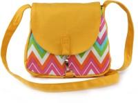 Vogue Tree OCHREZIG Medium Sling Bag (Yellow)