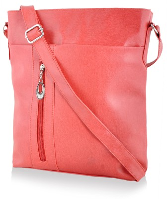 7b0168870524 Rosemary Women Casual Red PU Sling Bag for Rs. 331 at Flipkart