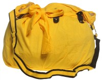 Tripssy Women, Girls Casual, Evening/Party Yellow Cotton Sling Bag