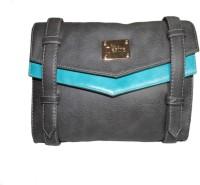 Moda Desire Women Casual Grey Leatherette Sling Bag