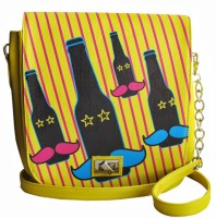 The Big Bag Theory TBBTWGSB01 Medium Sling Bag (yellow01)