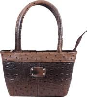 PinkDivaas Girls, Women Brown Leatherette Hand-held Bag