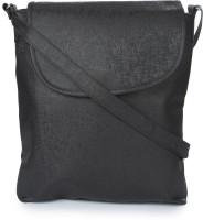 Kaartik24 A4 SIZE_DIM BLACK Medium Sling Bag (Dim Black)