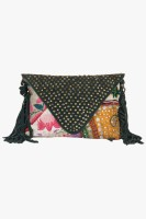 Famous By Payal Kapoor Women Multicolor Cotton Sling Bag