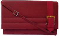 MTE Women Casual Maroon PU Sling Bag