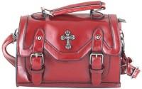 Aliza Women Formal Maroon Genuine Leather Sling Bag