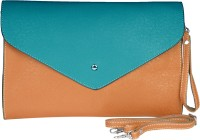 Just Women Neon Box Large Sling Bag - Cornflower Blue