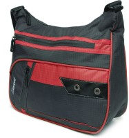 Zwart 314104GR Medium Sling Bag - Grey, Red