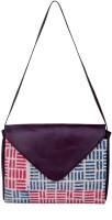 Natural Furnish Girls Multicolor Cotton, PU Sling Bag