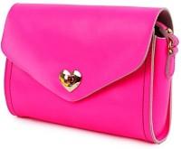 Elizabeth's Tailleur Women Casual Pink Genuine Leather Sling Bag