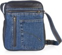 Hibiscus Fusion4 Small Sling Bag - Dark Brown-Blue-05