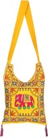 Rajrang Women Casual Yellow Cotton Sling Bag - SLBE9TV9EQWACUJW