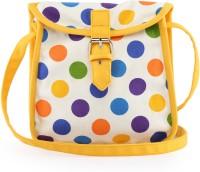 Vogue Tree Multipolka Medium Sling Bag (Yellow)