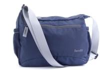 Bendly Smart Foldable Cross Body Medium Sling Bag - Navy Blue-01