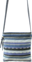 Anekaant Kuttu Small Sling Bag - Blue
