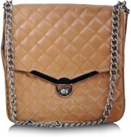 Lalana Women Brown PU Sling Bag