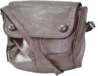 JG Shoppe Angelic Small Sling Bag - Brown-675