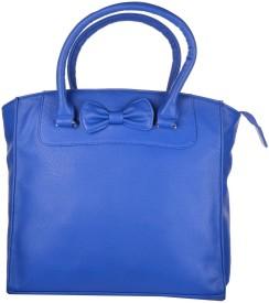 Freppy Women Blue PU Tote