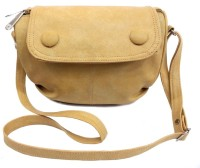 Belladona Girls, Women Casual, Formal Beige Leatherette Sling Bag