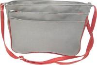 Ellye Girls Casual Grey Leatherette Sling Bag