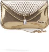 Falah Bag Works Girls Gold PU Sling Bag