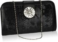 Neuste Women, Girls Casual, Festive, Evening/Party Black Leatherette Sling Bag