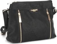 Carlton London Women Black Sling Bag
